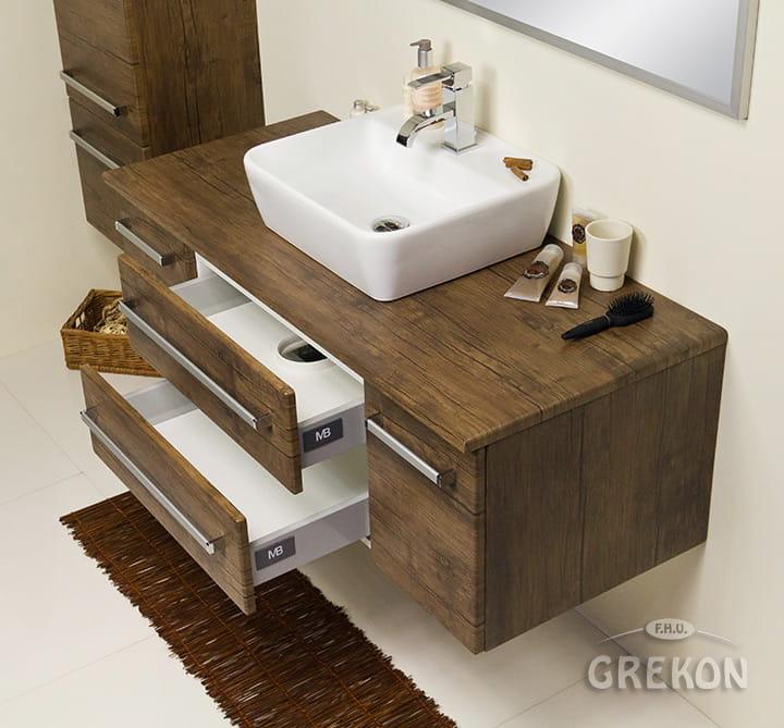 Fokus Antyczne Drewno Fokus Meble łazienkowe Szafka Fks Ad